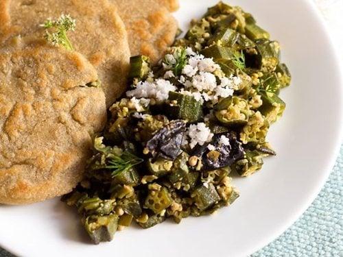 bhindi nariyal sabzi recipe