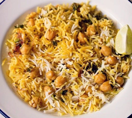chole biryani recipe