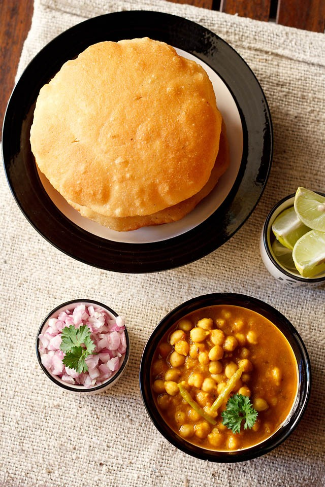 chole bhature recipe, how to make chole bhature, chole bhatura recipe