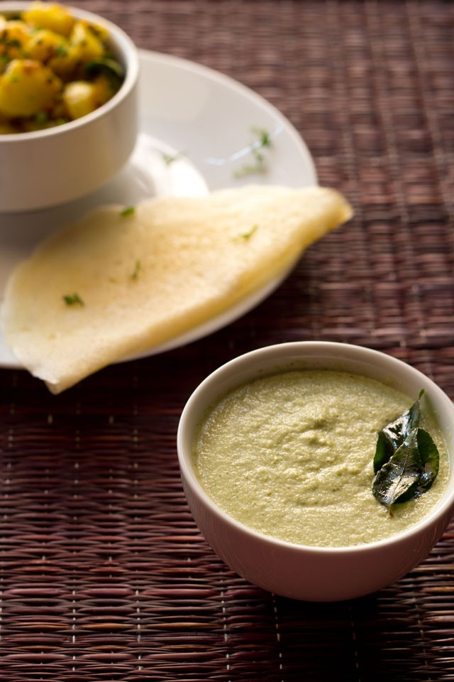 garlic coconut chutney
