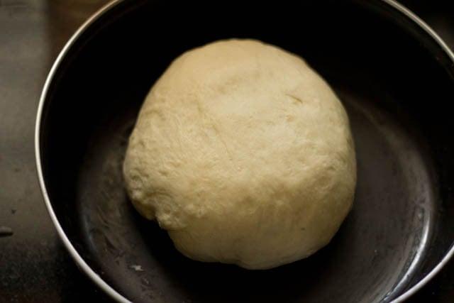 fermented dough for making kulcha recipe