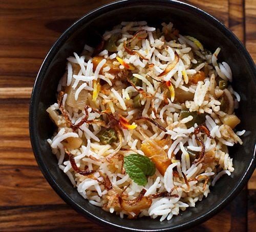 Biryani recipes 28 veg biryani recipes tasty for Awadhi cuisine vegetarian