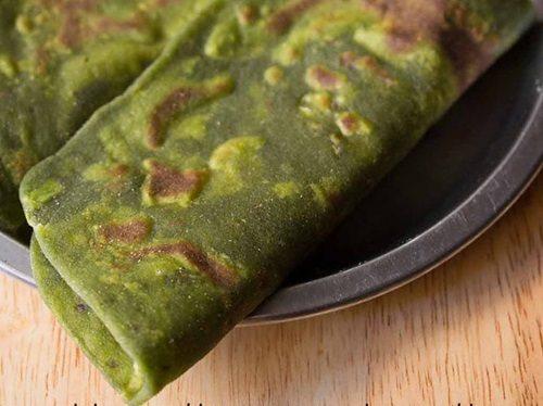 spinach paratha recipe