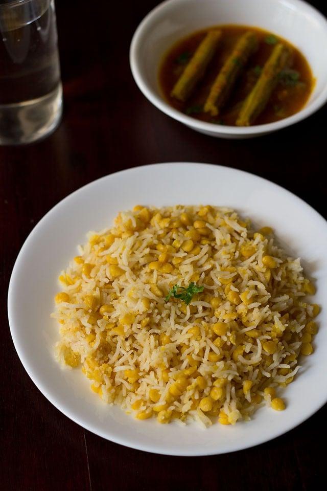 chana dal khichdi recipe, how to make chana dal khichdi recipe