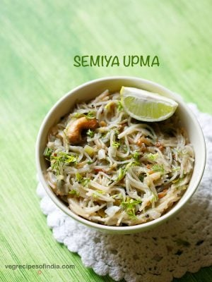 semiya upma recipe | vermicelli upma recipe | how to make semiya upma