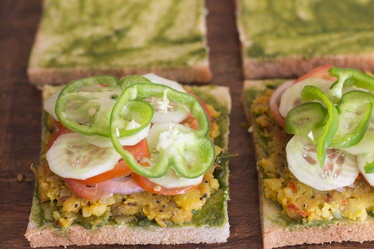 Sandwich India Street Food Oil
