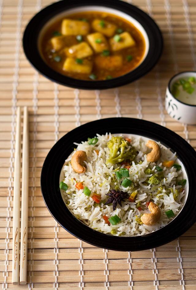 veg pulao or veg pilaf