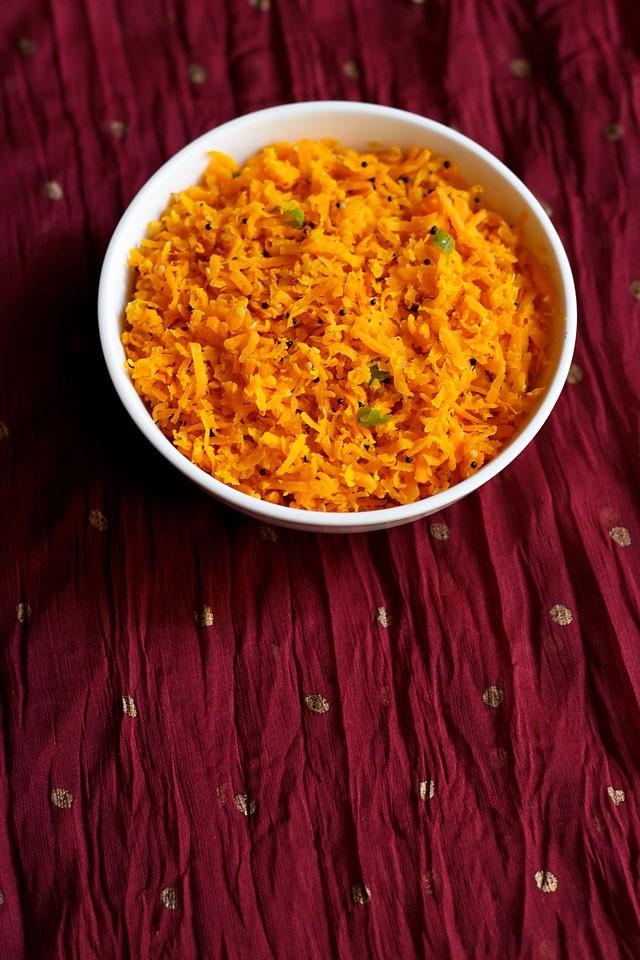 carrot sambharo