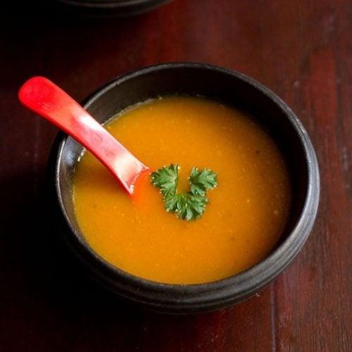 carrot tomato soup recipe, tomato carrot soup recipe