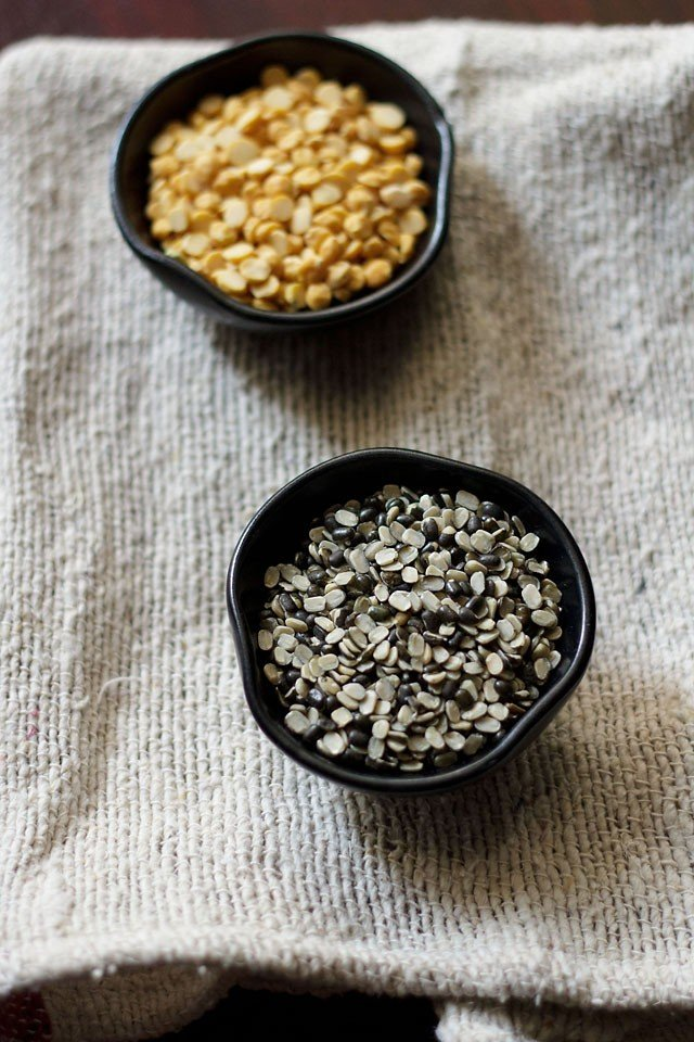 chana dal urad dal for maah cholon ki dal recipe