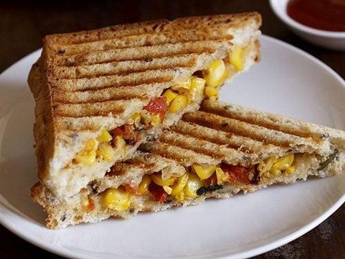 corn sandwich