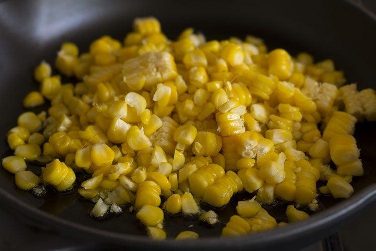 corn sandwich recipe