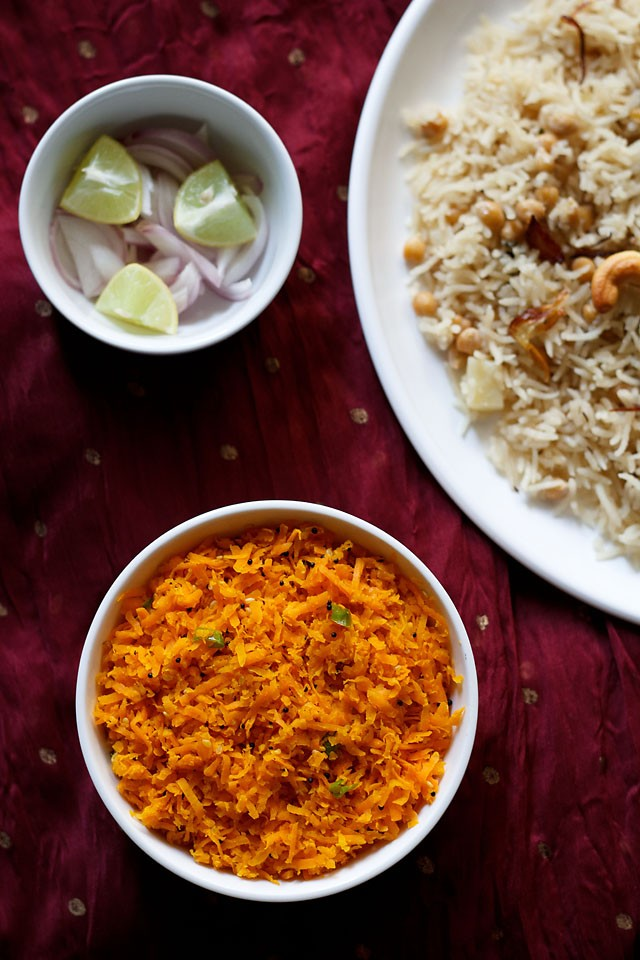 gujarati carrot salad