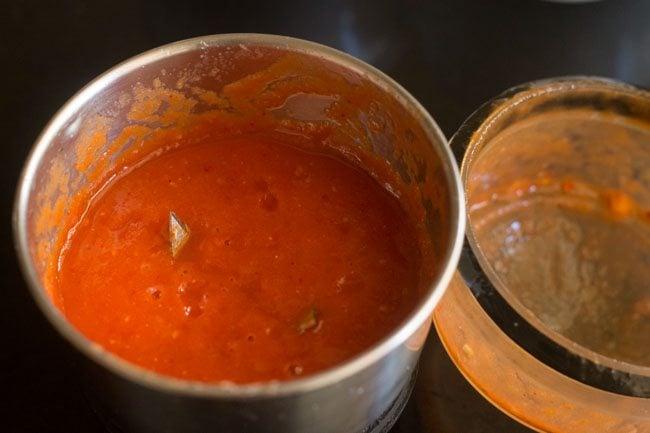 methi chole recipe