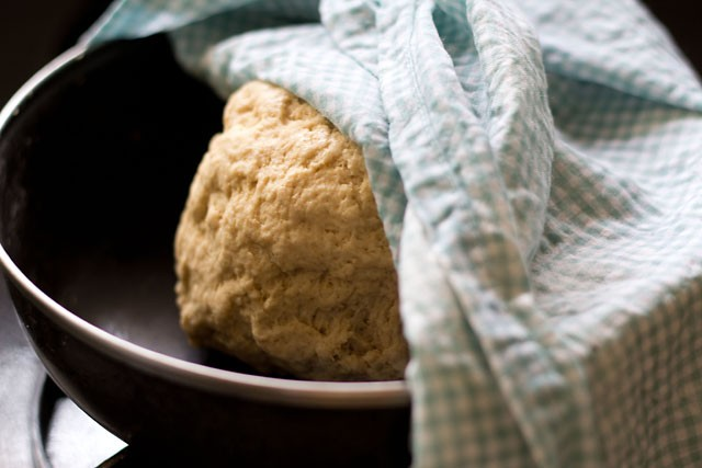 dough for naan recipe without yeast