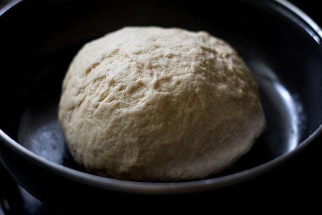 cover the naan dough