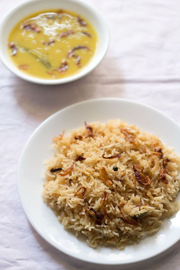 parsi brown rice recipe, how to make parsi brown rice recipe | parsi recipes