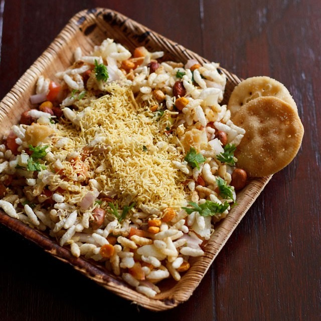 sukha bhel puri recipe