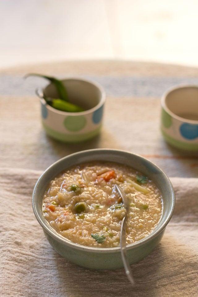 vegetable dalia recipe
