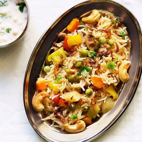 easy veg pulao recipe in pressure cooker