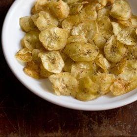 banana chips, banana wafers
