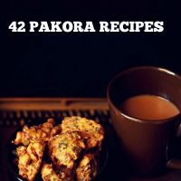 pakora recipes | 42 pakoda recipes | bajji recipes | indian fritters recipes