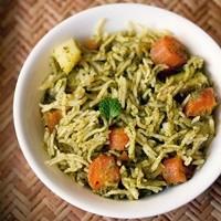 chutney pulao recipe