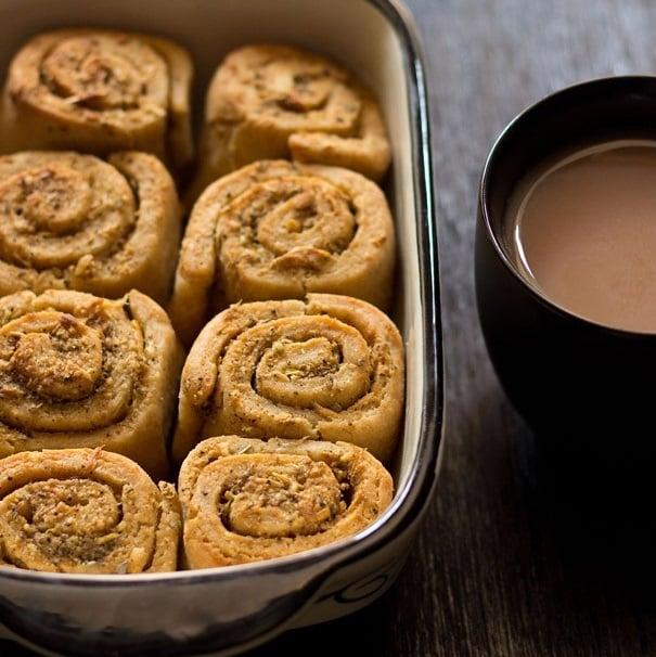 garlic bread rolls recipe