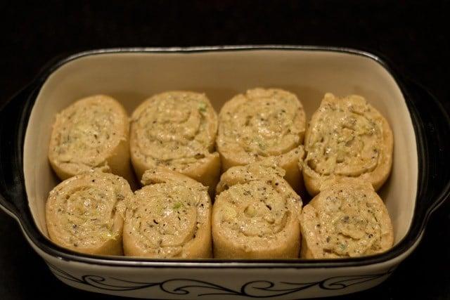 baking - garlic bread rolls recipe