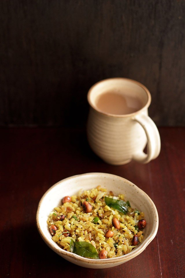 kanda poha recipe, onion poha recipe | how to make kanda pohe recipe
