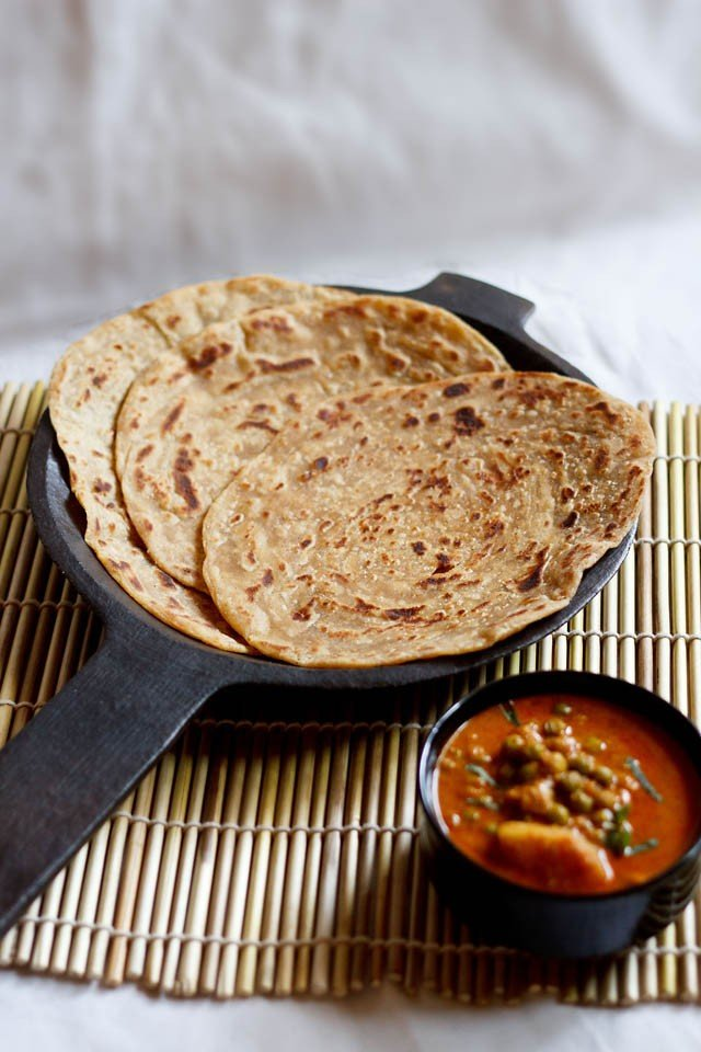 kerala paratha recipe or kerala parotta, how to make kerala paratha recipe