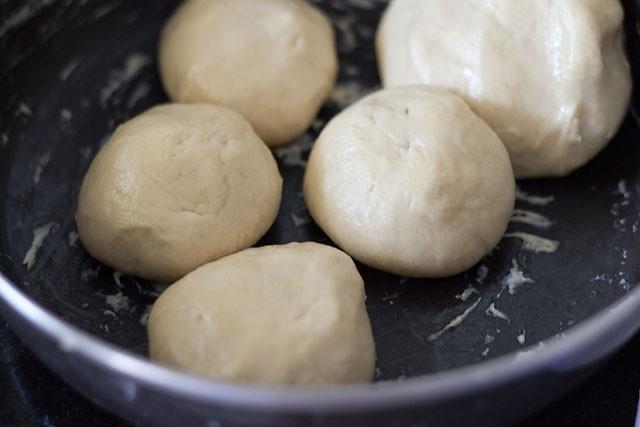 dough for preparing Kerala paratha recipe