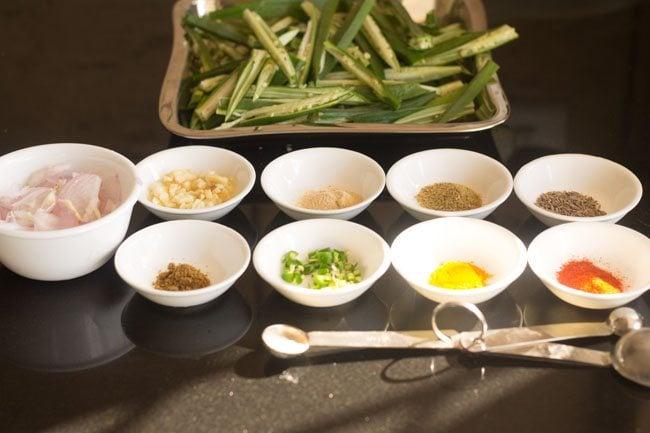 lahsuni bhindi recipe