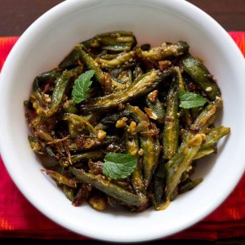 spicy bhindi