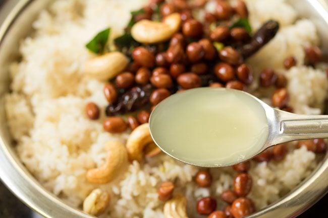 making south indian lemon rice recipe