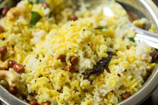 Lemon rice recipe how to make lemon rice recipe easy rice recipes south indian lemon rice recipe ccuart Images
