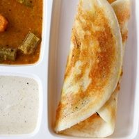 restaurant style masala dosa recipe