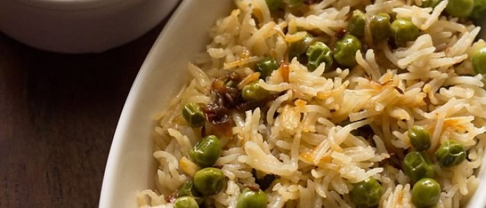 peas pulao recipe | matar pulao recipe | how to make green peas pulao