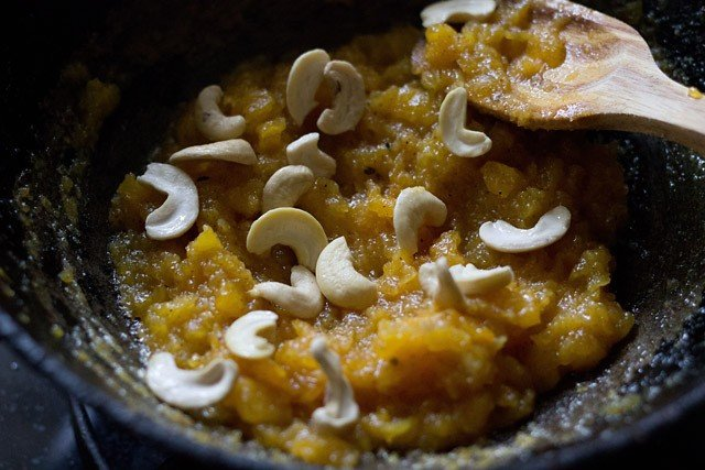 cashews for papaya halwa recipe