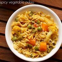 spicy veg pulao recipe