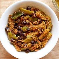 tindora chana masala recipe