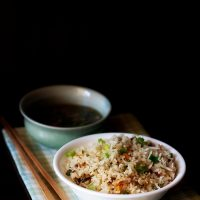veg fried rice recipe, how to make fried rice recipe | chinese fried rice