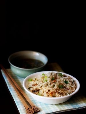 veg fried rice, fried rice