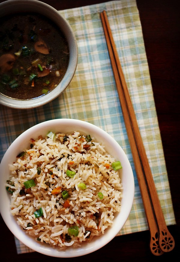 Veg fried rice recipe how to make delicious vegetable fried rice veg fried rice recipe forumfinder Image collections