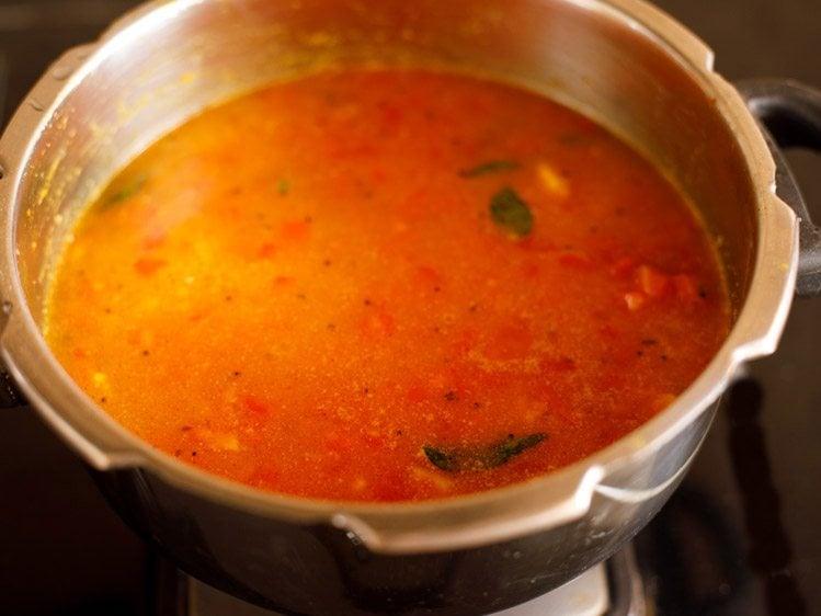 Andhra tomato dal recipe