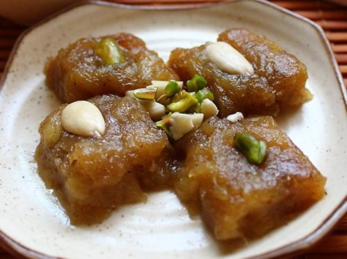 apple halwa recipe