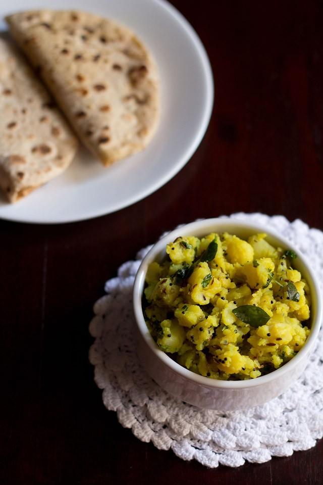 batata bhaji or aloo sabzi
