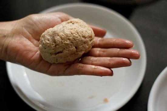 making bread rolls recipe with stuffed potatoes