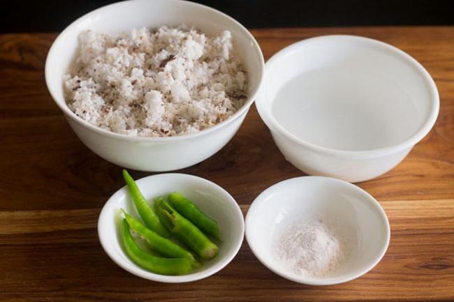 coconut chutney for fasting or vrat