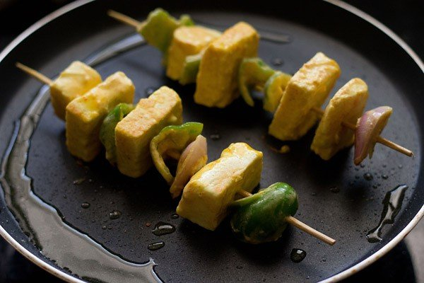 fried paneer tikka